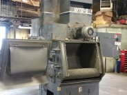 Wheelabrator WTB-6 6 Cube with Dust Collector