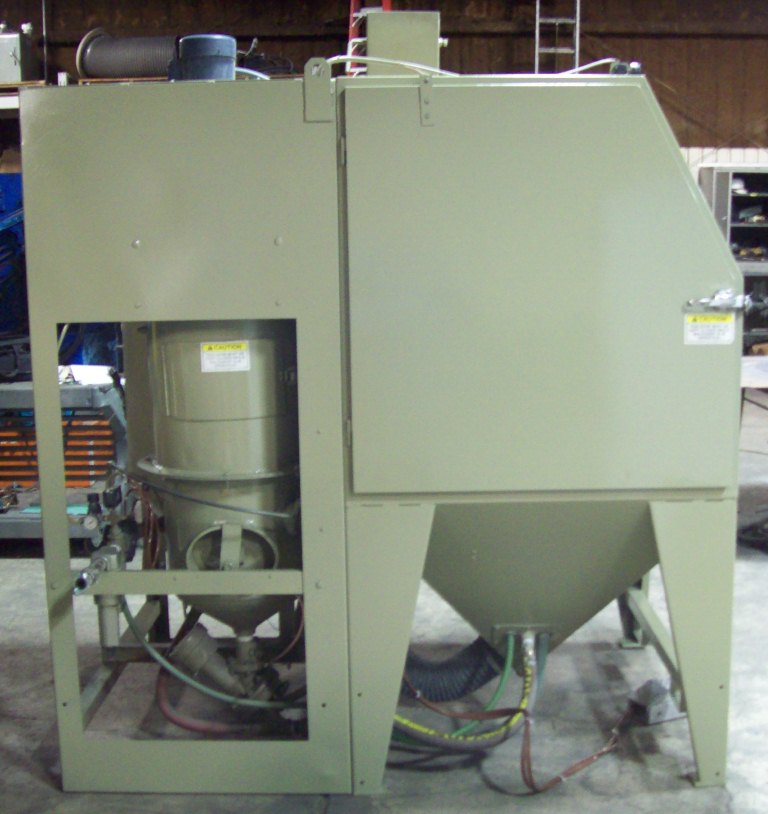 New & Used Blast Cabinets - Plan B Services & Solutions, LLC